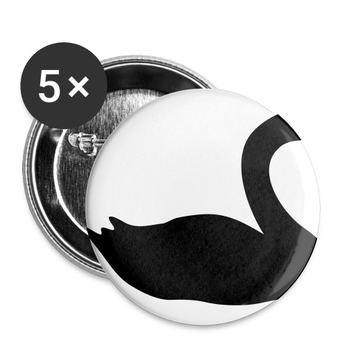 swan - Buttons medium 1.26/32 mm (5-pack)