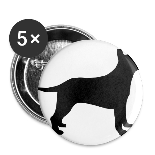 dog - Buttons large 2.2''/56 mm (5-pack)