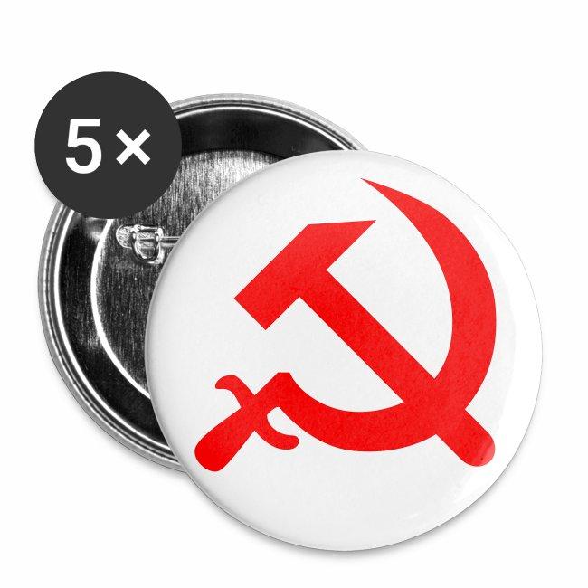 Hammer + Sichel / Serp + Molot Sowjetunion Button Anstecker