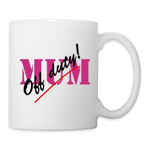 Off Duty Mum Neon - Mug