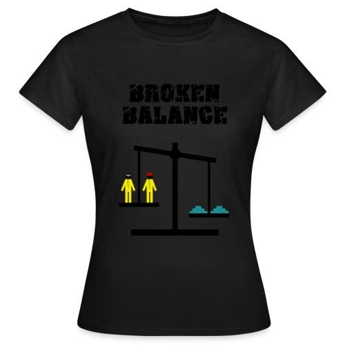 Breaking Bad - broken balance - Camiseta mujer