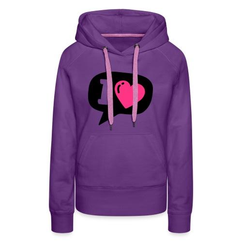 I heart - Women's Premium Hoodie
