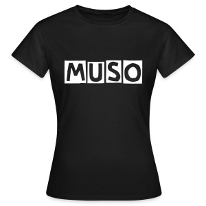 MUSO Girl Black - Women's T-Shirt