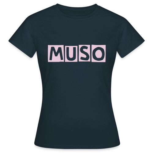 MUSO Girl Navy - Women's T-Shirt