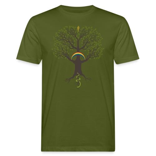 Yggdrasil-mörk Klimatneutral T-shirt herr - Ekologisk T-shirt herr