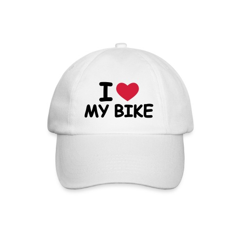 I Love my bike - Baseballcap