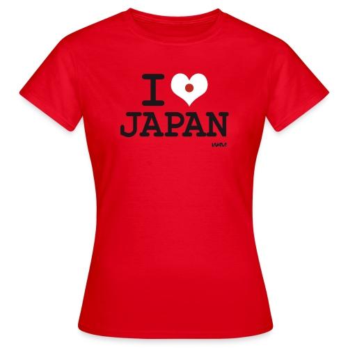 I love Japan - T-shirt Femme