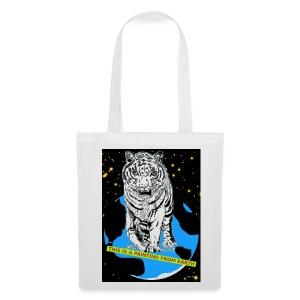 tijgertas - Tas van stof
