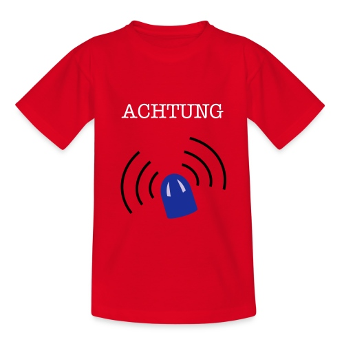 Achtung - Teenager T-Shirt