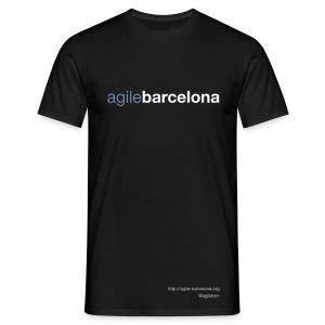 Camiseta basic hombre (font + back) - Camiseta hombre