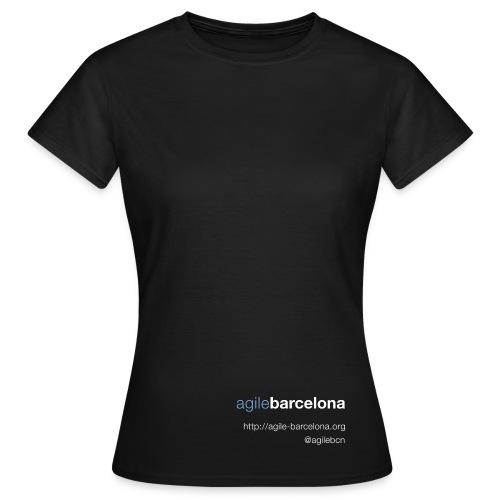 Camiseta mujer (font + back) - Camiseta mujer