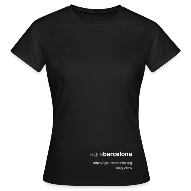 Camiseta mujer (solo font)