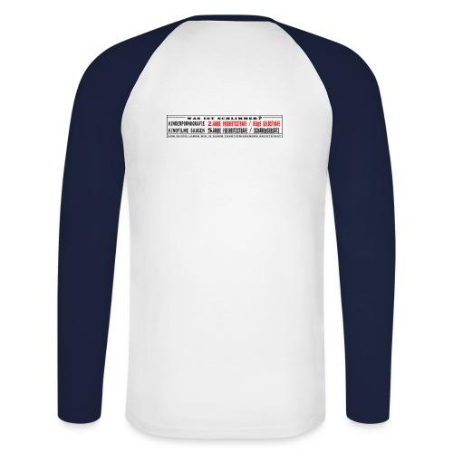 Rechtsstaat 2 - Männer Baseballshirt langarm