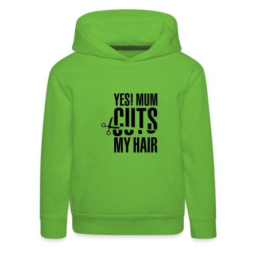 hair - Kids' Premium Hoodie