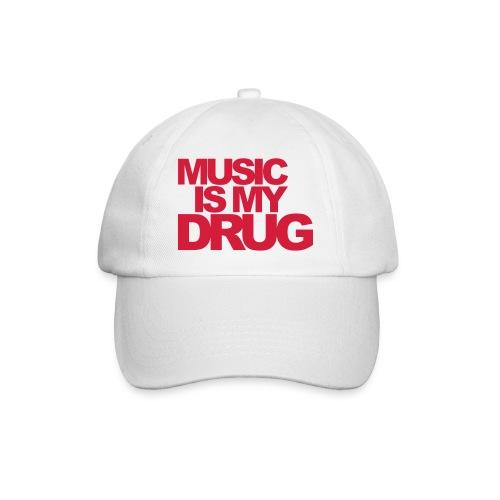 Casquette classique - Music is my Drug Red - Casquette classique