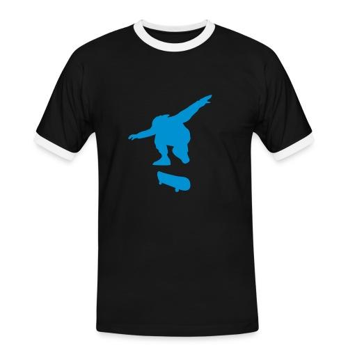 Skate T-Shirt - Männer Kontrast-T-Shirt