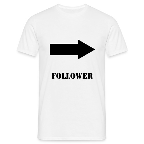 THE FOLLOWER - Men's T-Shirt