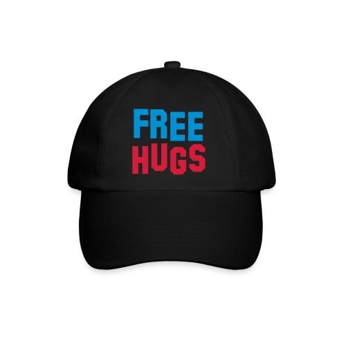Casquette noir free hugs - Casquette classique