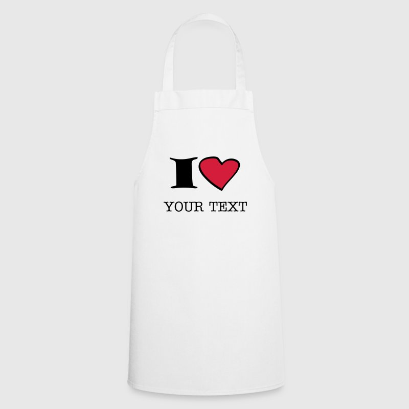 i_love_2c  Aprons - Cooking Apron