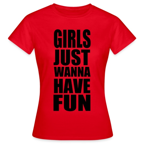 Girls & fun - T-skjorte for kvinner