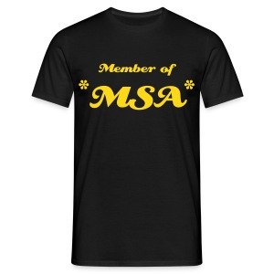 T-Shirt Member of *MSA* - Männer T-Shirt