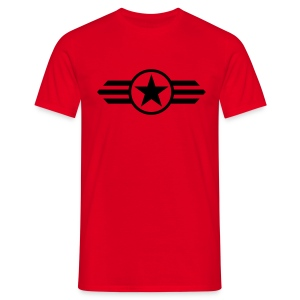 red star man - Camiseta hombre