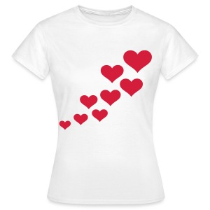 hearts chica - Camiseta mujer