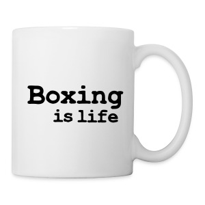 TAZA  BOXING IS LIFE - Taza