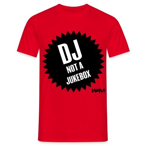 dj not a jukebox chico - Camiseta hombre