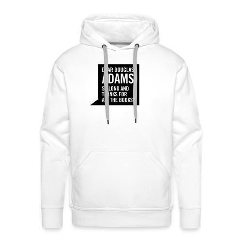 Hitchhiker - white hoodie - Men's Premium Hoodie