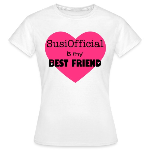 SUSI IS MY BEST FRIEND :) - Maglietta da donna