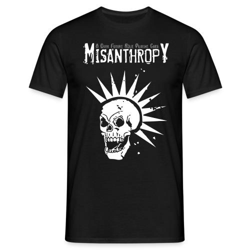 Misanthropy Skull-Shirt Bullshit - Männer T-Shirt