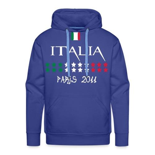 DIVISA NAZIONALE ITALIA IAKO - Felpa con cappuccio premium da uomo
