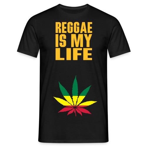T-Shirt musique reggae homme noir et couleur - T-shirt Homme
