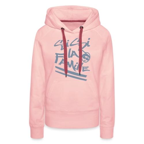 family-sweat - Sweat-shirt à capuche Premium pour femmes