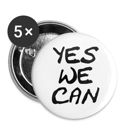 yes we can - Buttons groß 56 mm
