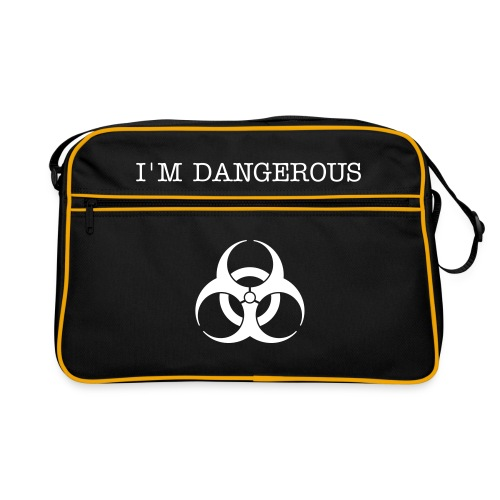 I'm dangerous - Retro Bag
