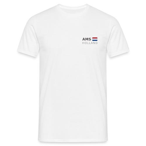 Classic T-Shirt AMS HOLLAND dark-lettered - Men's T-Shirt