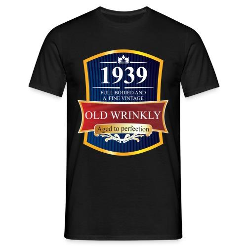 Old Wrinkly 1939 Birthday t-shirt - Men's T-Shirt