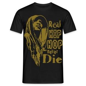 Real hip hop gold - T-shirt Homme