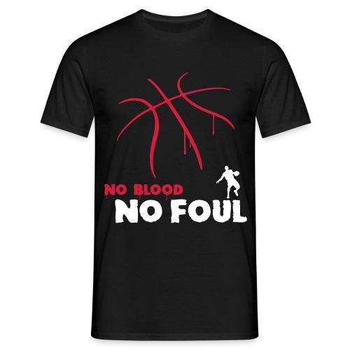 No Blood - Mannen T-shirt