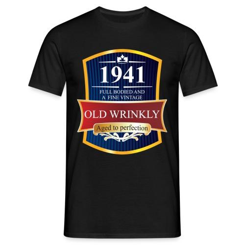 Old Wrinkly 1941 Birthday t-shirt - Men's T-Shirt