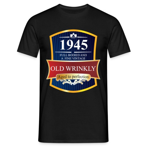Old Wrinkly 1945 Birthday t-shirt - Men's T-Shirt