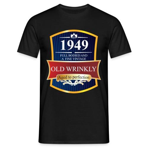 Old Wrinkly 1949 Birthday t-shirt - Men's T-Shirt