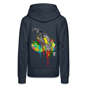 Casiegraphics Hawaii Mamo - Frauen Premium Hoodie
