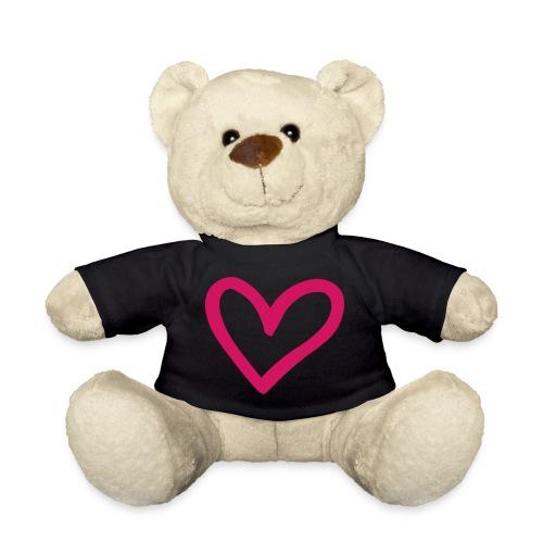 Big Pink Heart Bear - Teddy Bear