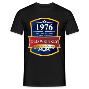 Old Wrinkly 1976 Birthday t-shirt - Men's T-Shirt