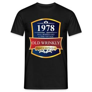 Old Wrinkly 1978 Birthday t-shirt - Men's T-Shirt