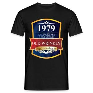 Old Wrinkly 1979 Birthday t-shirt - Men's T-Shirt