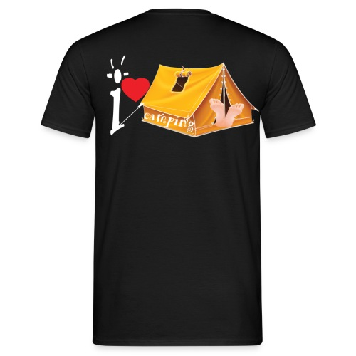I love Camping - T-shirt Homme